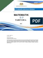 DSK Matematik Tahun 2 (Edisi BC)