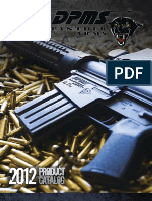 DPMS Panther Arms 2012 Catalog | Firearms | Rifle