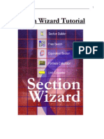 Section Wizard Tutorials