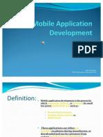 Presentation, Mobile Applications , Project2 SOA, Amir M Yosephi, Farshid Pourabbas