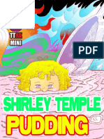 Shirley Temple Pudding Mini