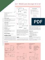 Tunicas ABCD Burda Costura Facil Instrucciones de Costura