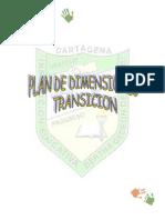 PLAN DE DIMENCIONES TRANSICIÓN 2011