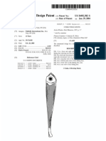 Fishing lure (US patent D492382)