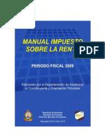 Manual Para Calculo Del Impuesto Sobre Renta