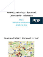 Perbedaan Industri Semen Di Jerman Dan Indonesia