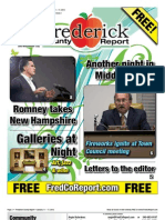 Frederick County Report 1/11/12