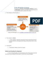 T2, Gr 6, Sec a, HRM, Infosys HR Policies