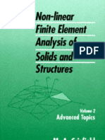 Crisfield M.a. Vol.2. Non-Linear Finite Element Analysis of Solids and Structures.. Advanced Topi