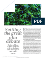 Neuroscience- Settling the Great Glia Debate