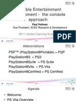 PS VITA Jordan Gaming Summit