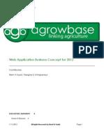 AGB Agrowbase Business Plan 01-2012 BrentASaulic