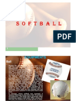 Equipments and Uniforms Softball Field [Compatibility Mode]