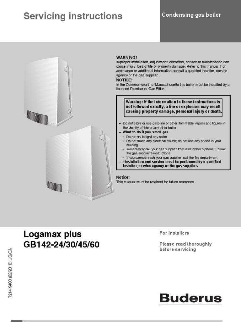 Buderus logamatic Erc manual