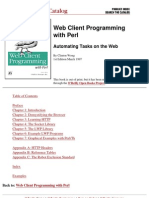 O'Reilly - Web Client Programming With Perl