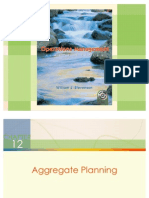 Ch 12 Aggregate Planning