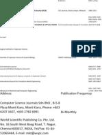 Journals List