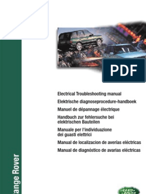 Electronic Troubleshooting Manual RR-P38 eng | Fuel