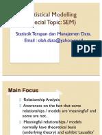 Statistical Modelling 2