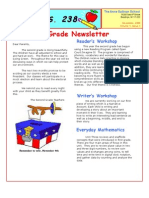 2nd Grade Newsletter November