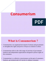 Lecture 2 , Consumerism (New Trends in Marketing )