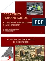 DESASTRES HUMANITARIOS (11 M)