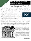 The Dedication of the Lateran Basilica Insert