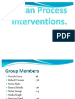 Human Process Interventions