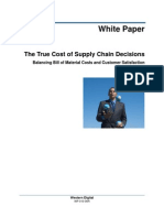Cost of Supply Chain Decisions