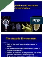 7.Osmoregulation and Excretion in Invertebrates- Final