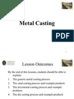 Metal Casting A