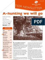 Woodland Trust - Summer 2007 – Volunteer newsletter edition 5