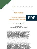 Pre-textos. Conversaciones sobre la comunicación y sus contextos - Introducción