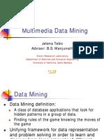 Multimedia Mining
