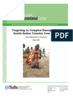 Targeting in Complex Emergencies