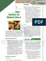 Biologia - composição quimica da materia