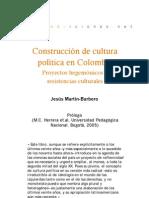 Construccion de cultura política en Colombia  (prólogo)