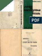 Amintirile Unui Atasat Roman in Bulgaria 1910-1913
