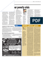 TheSun 2008-11-06 Page22 the Nutmeg Verses Dont Forget Our Poverty Crisis