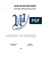Proiect Univ. Pitesti