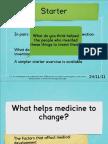 Medicine Factors