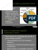 What is driving the new $40 billion  green buiding market