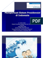 A Presidential System With Indonesian Characteristics - Ind
