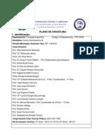 Plano de Disciplina Inter III 2010.1