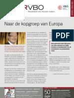 Naar de kopgroep van Europa, Infor VBO 1, 12 januari 2012