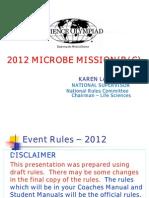 Microbe Mission 2012 v2