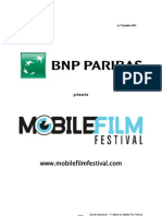 Dossier de Presse Mobile Film Festival Selection Officielle DEFINITIF