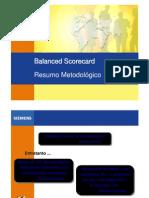 Balanced Scorecard - Resumo Metodológico