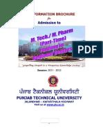 BrochureREGIONALPartMtechMPharma_2011