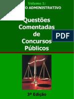 Questões Comentadas de Direito Administrativo